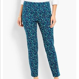 Talbot Chatham Ankle Pants Cascading Blossom